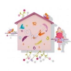 Horloge Alabonneheure - La Fille et le papillon - L'Oiseau Bateau