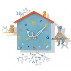 Horloge Alabonneheure - Le loup - L'Oiseau Bateau
