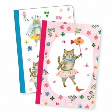 2 Petits Carnets Aïko - Lovely Paper by Djeco