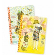 2 Petits Carnets Elodie - Lovely Paper by Djeco