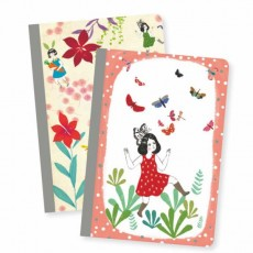 2 Petits Carnets Chichi - Lovely Paper by Djeco
