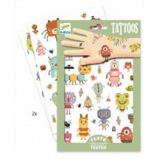 Tatouages - Monstres - Djeco