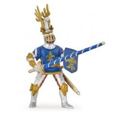 Figurine Chevalier bleu fleur de lys - Papo