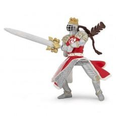 Fgurine Roi au dragon à l'épée - Papo