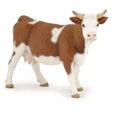 Figurine Vache simmental - Papo