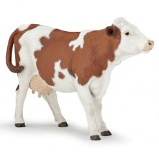 Figurine Vache Montbéliarde - Papo