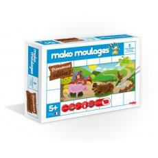 Moulage en plâtre Ferme 3 moules - Mako Créations