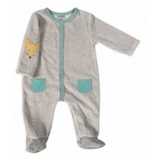 Nao Pyjama gris Les Petits Habits Tartempois hiver 2017 - Moulin Roty
