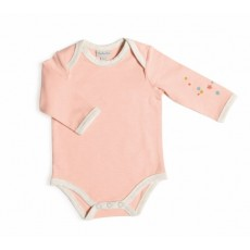 Manon Body rose manches longues Les Petits Habits Tartempois hiver 2017 - Moulin Roty