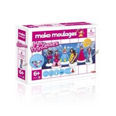 Moulage en plâtre Princesse 6 moules - Mako Créations