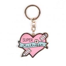 Porte-clés Super Maîtresse - Créa bisontine