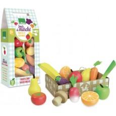 Set de fruits et légumes Jour de Marché - Vilac