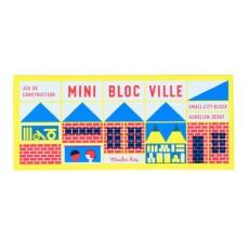 Mini jeu de construction en bois de 23 pièces - Dans la ville - Moulin Roty