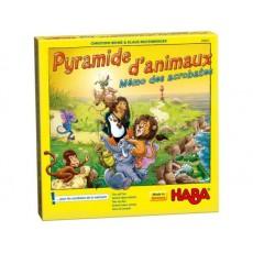 Pyramide d'animaux - Mémo des acrobates - Haba