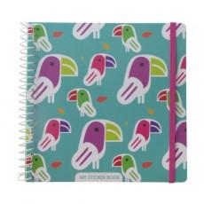 Sticker Book Toucan - Majolo