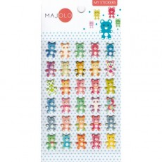 Stikers oursons - Majolo