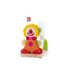 Le Cirque Porte Brosse à dents rouge - Sevi